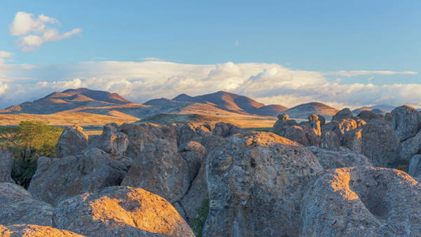 Boulder Mountains Photograph - Usa, New Mexico, City Of Rocks State by Jaynes Gallery