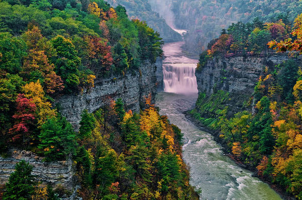 Letchworth Photograph - Usa, New York, Letchworth State Park by Jaynes Gallery