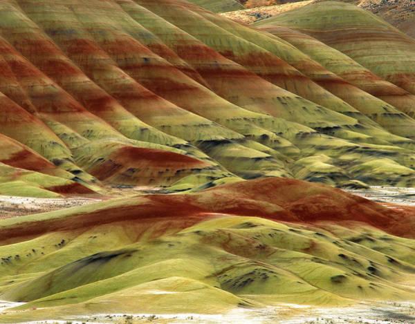 Oregon Ridge Photograph - Usa, Oregon, John Day Fossil Beds by Jaynes Gallery