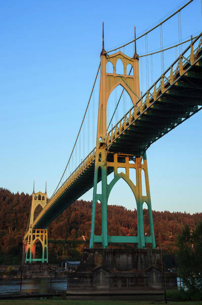 Willamette Photograph - Usa, Oregon, Portland, Cathedral Park by Rick A Brown