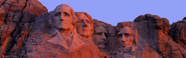 Rushmore Photograph - Usa, South Dakota, Mount Rushmore by Panoramic Images