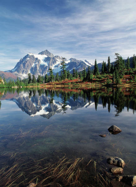 Change Photograph - Usa, Washington State, North Cascades by Stuart Westmorland