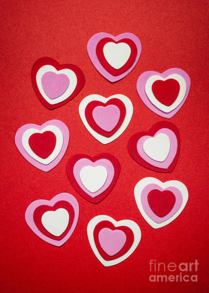 Wall Art - Photograph - Valentines Day Hearts by Elena Elisseeva