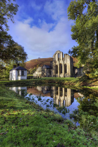 Photograph - Valle Crucis Abbey by Ian Mitchell