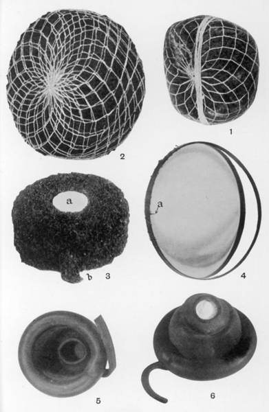 Wall Art - Drawing - Various Forms Of Female  Contraception by Mary Evans Picture Library