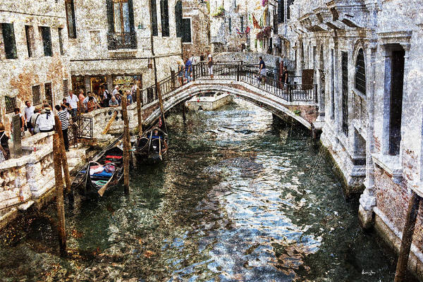 Wall Art - Photograph - Venice Canal by Madeline Ellis