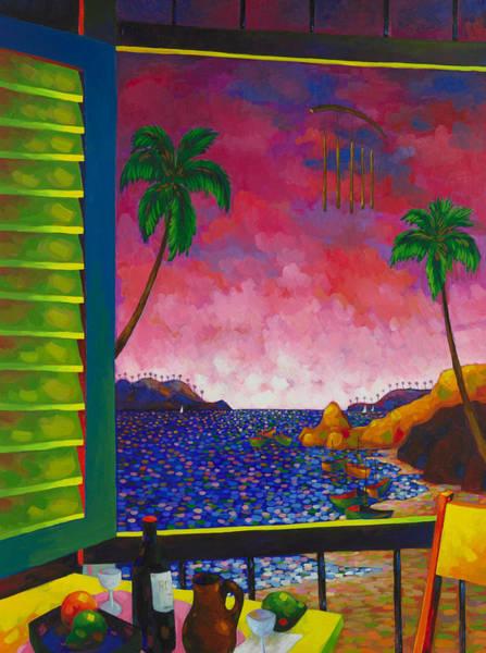 Conceptualism Painting - Ventana by Miguel Suarez-Pierra