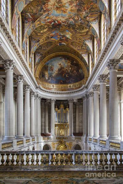 Chapelle Photograph - Versailles Chapel by Brian Jannsen