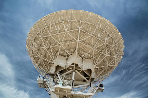 Very Large Array Photograph - Very Large Array Antenna by Jim West/science Photo Library
