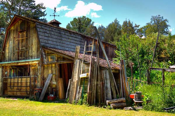 Photograph - Vic's Barn by David Patterson