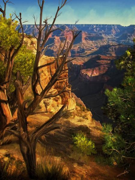 Desert Southwest Digital Art - View From South Rim by Dale Jackson