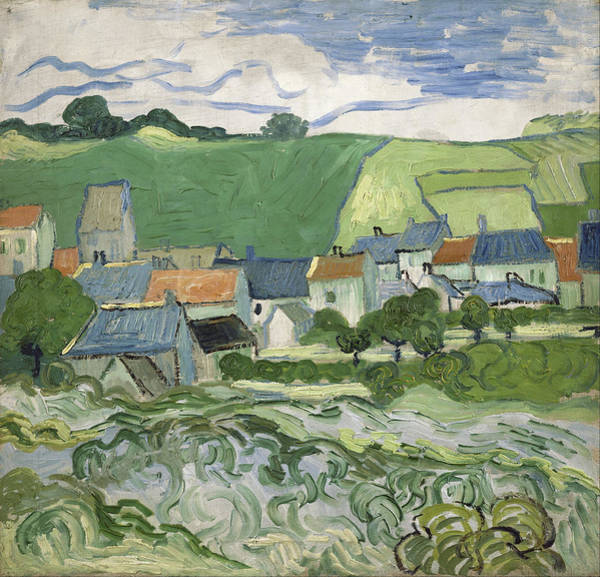 Painting - View Of Auvers by Vincent Van Gogh