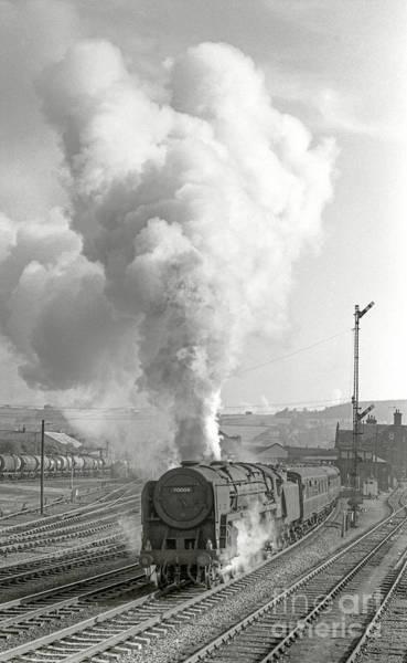 Photograph - Vintage Steam Locomotive 70004 by David Birchall