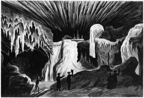 Painting - Virginia Cave, 1856 by Granger