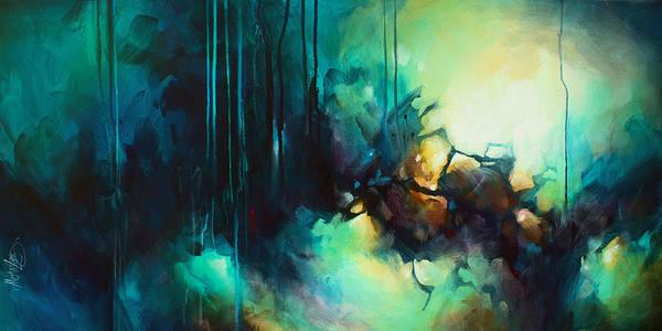 Wall Art - Painting - 'visions' by Michael Lang