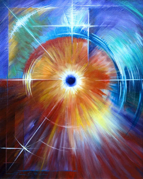 Wall Art - Painting - Vortex by James Christopher Hill