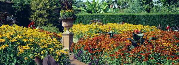 Urn Photograph - Walled Garden by Anthony Cooper/science Photo Library