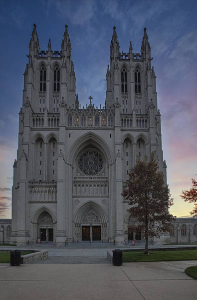 Photograph - Washington National Cathedral by Susan Candelario