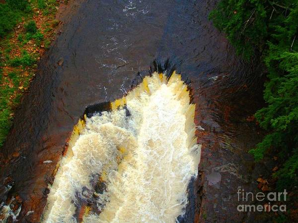Photograph - Waterfall - Ausable Chasm by Cristina Stefan