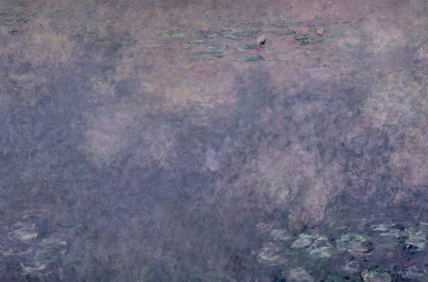Nympheas Painting - Waterlilies Two Weeping Willows by Claude Monet