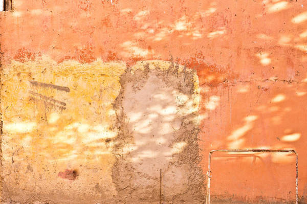 Cement Photograph - Weathered Wall by Tom Gowanlock