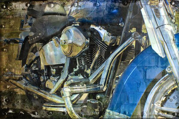 Sienna Photograph - 2 Wheel Rumbler by Melissa Smith