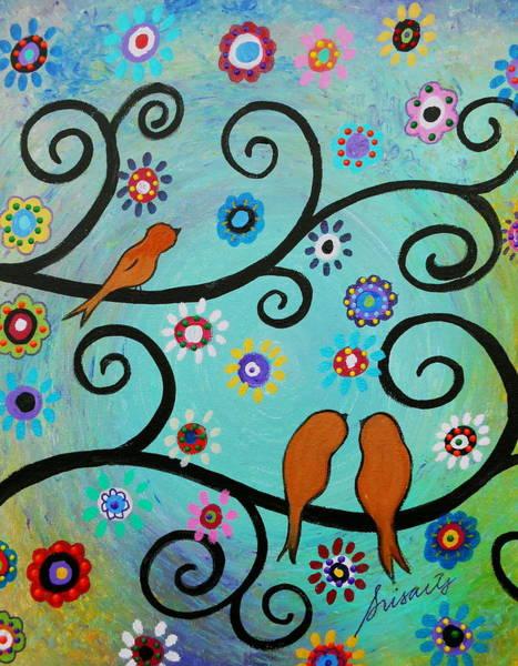 Toomer Wall Art - Painting - Whimsyland by Pristine Cartera Turkus