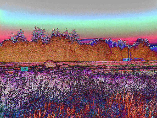 Photograph - Willamette Valley Sunrise by Lora Fisher