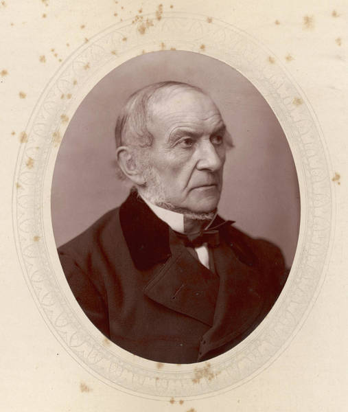 Gladstone Wall Art - Photograph - William Ewart Gladstone  British by Mary Evans Picture Library