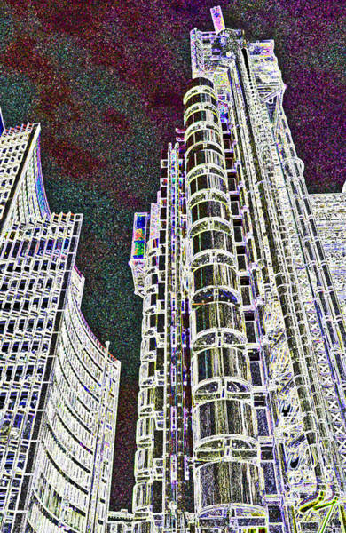 Insurance Digital Art - Willis Group And Lloyd's Of London  by David Pyatt