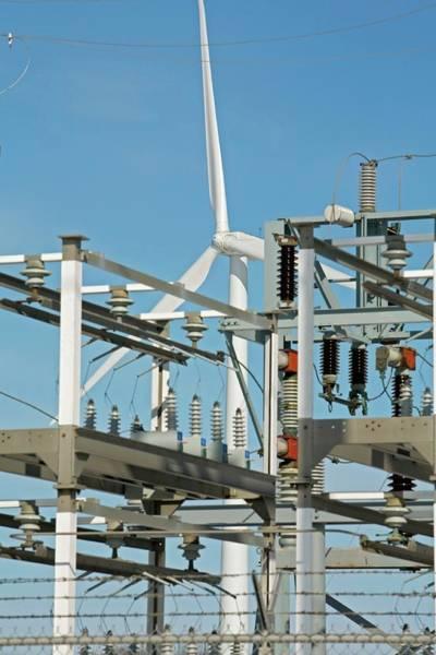 Wind Generator Photograph - Wind Farm by Jim West