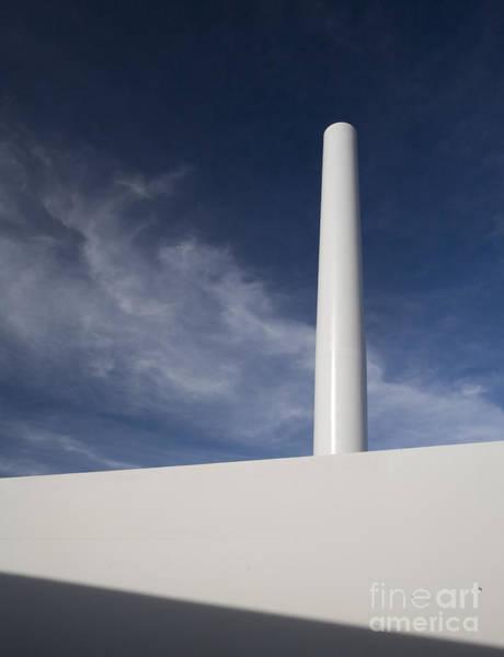 Photograph - Wind Turbine Under Construction by Jim West