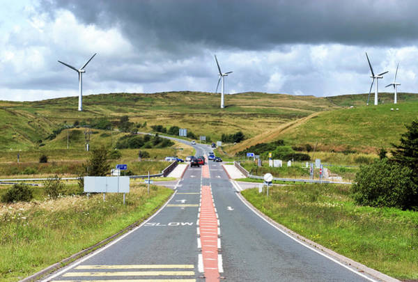 Controversial Wall Art - Photograph - Wind Turbines by Gustoimages/science Photo Library