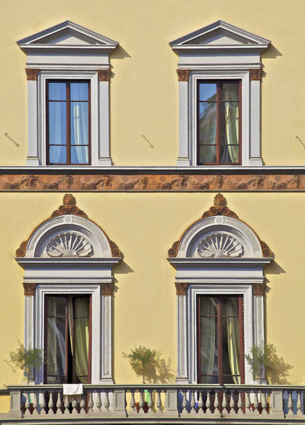 Photograph - Windows Of Tuscany by David Letts