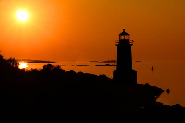 Art Print featuring the photograph Winter Island Lighthouse Sunrise by Jemmy Archer