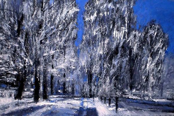 Wall Art - Painting - Winter by Vladimir Vlahovic