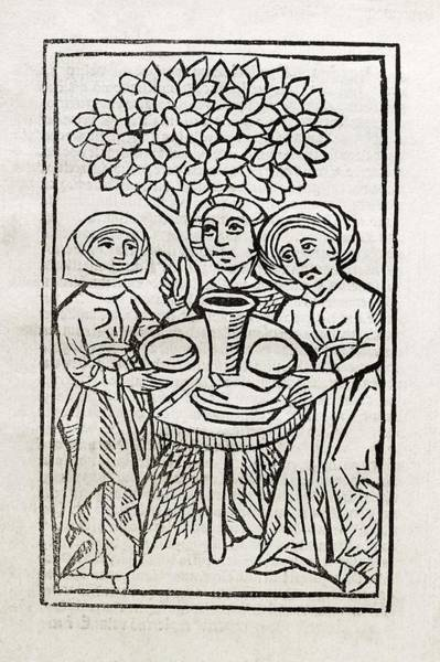 German Food Photograph - Witchcraft Treatise by Library Of Congress, Rare Book And Special Collections Division/science Photo Library