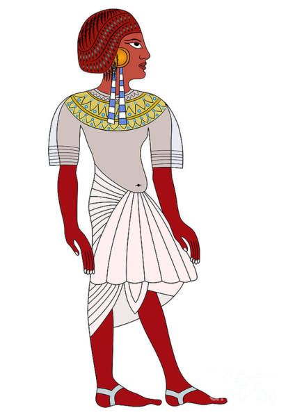 Wall Art - Digital Art - Woman Of Ancient Egypt by Michal Boubin
