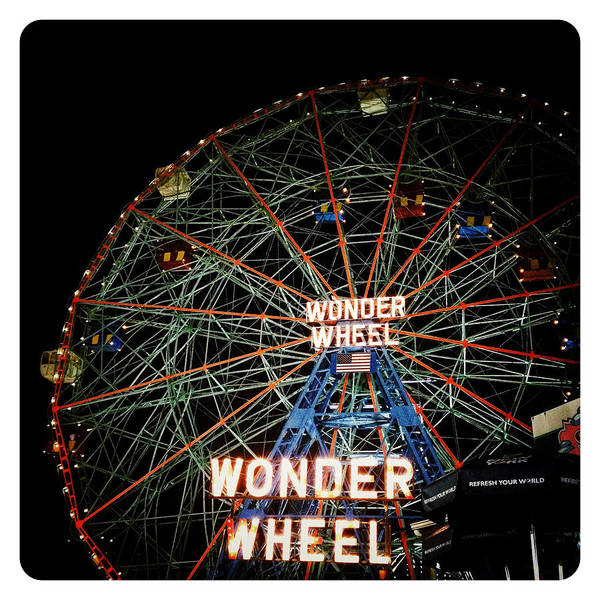 Photograph - Wonder Wheel by Natasha Marco