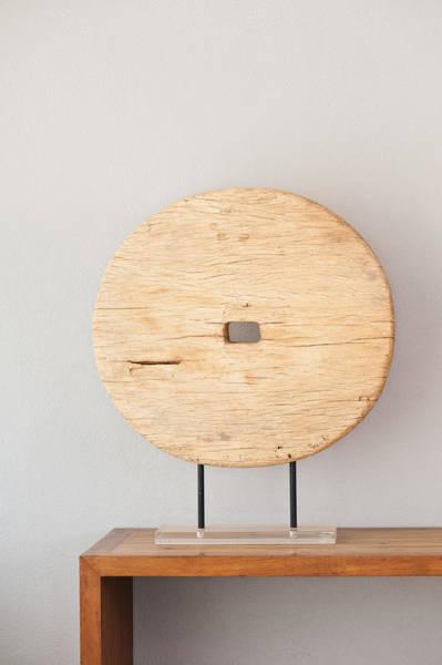 Photograph - Wooden Interior Decoration  by U Schade