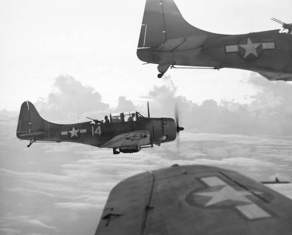 Photograph - World War II: U.s. Bombers by Granger