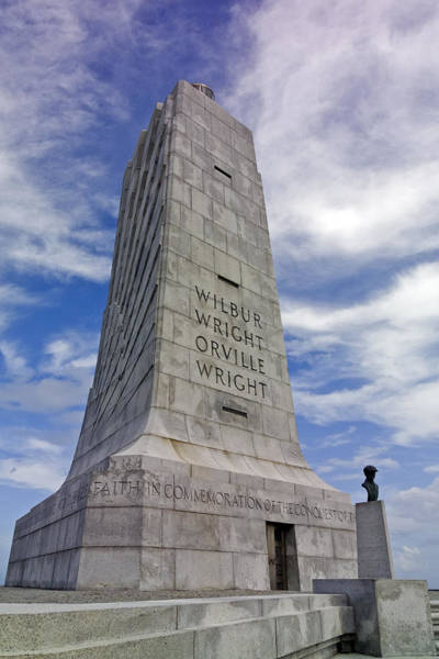 Photograph - Wright Brothers National Memorial by Greg Reed