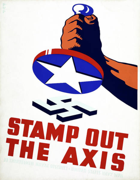 Painting - Wwii Poster, 1941 by Granger