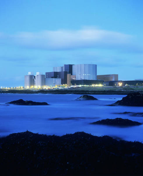 Wall Art - Photograph - Wylfa Nuclear Power Station by Martin Bond/science Photo Library
