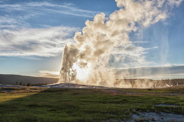 Upper Geyser Basin Photograph - Yellowstone National Park by Patrick Leitz