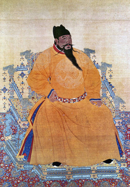 Wall Art - Painting - Yung-lo (1360-1424) by Granger