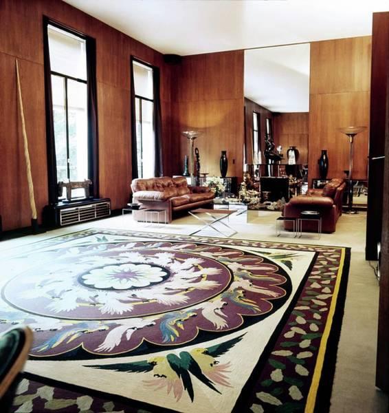Wall Art - Photograph - Yves Saint Laurent's Living Room by Horst P. Horst