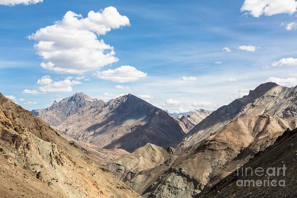 Photograph - Zanskar Mountain Range In Ladakh by Didier Marti
