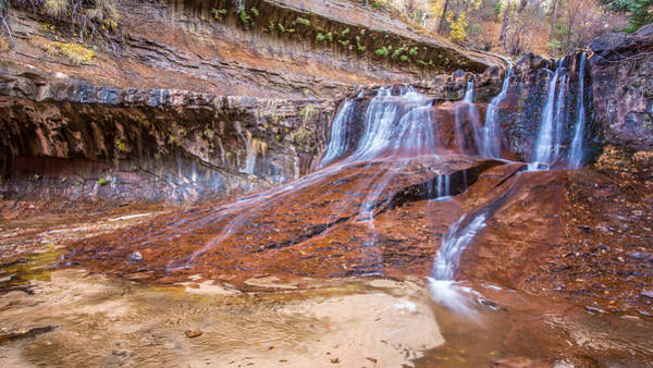 Photograph - Zion Waterfall by Pierre Leclerc Photography
