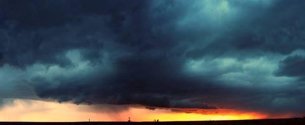 Photograph - First Storm Cells Of 2014 by NebraskaSC